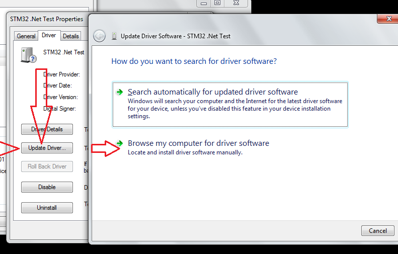 Search new driver